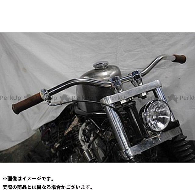 【無料雑誌付き】部品屋K&W FTR223 ドロップバー タイプ1 仕様:黒 ブヒンヤケーアンドダブリュー