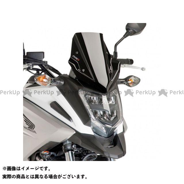 【エントリーで最大P21倍】プーチ NC750X レーシングスクリーン カラー:ブラック Puig