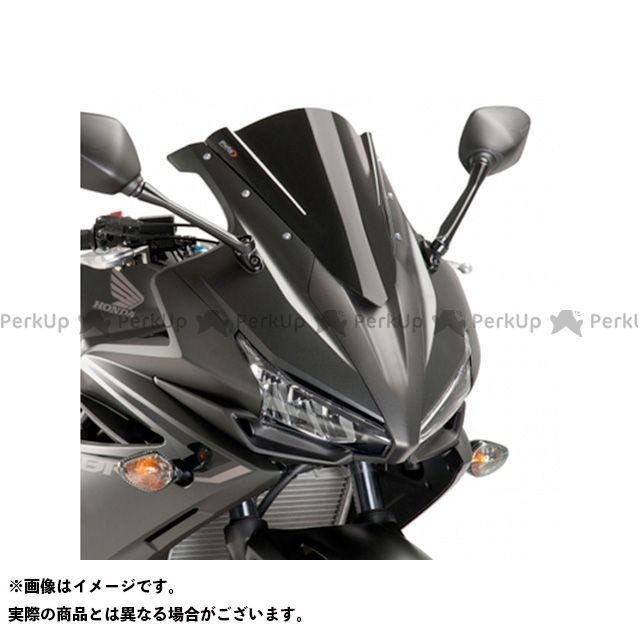 プーチ CBR400R レーシングスクリーン カラー:ブラック Puig