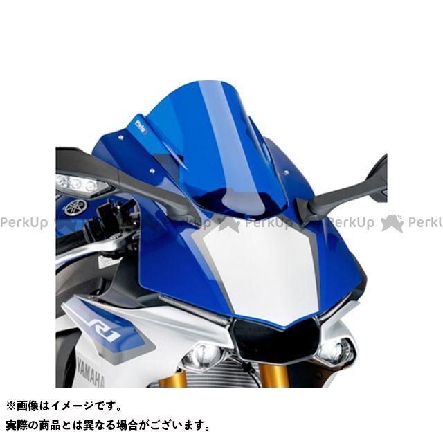 【エントリーで更にP5倍】プーチ YZF-R1 レーシングスクリーン カラー:ブルー Puig