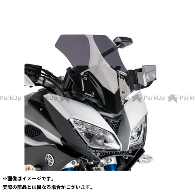 プーチ トレーサー900・MT-09トレーサー レーシングスクリーン カラー:ダークスモーク Puig