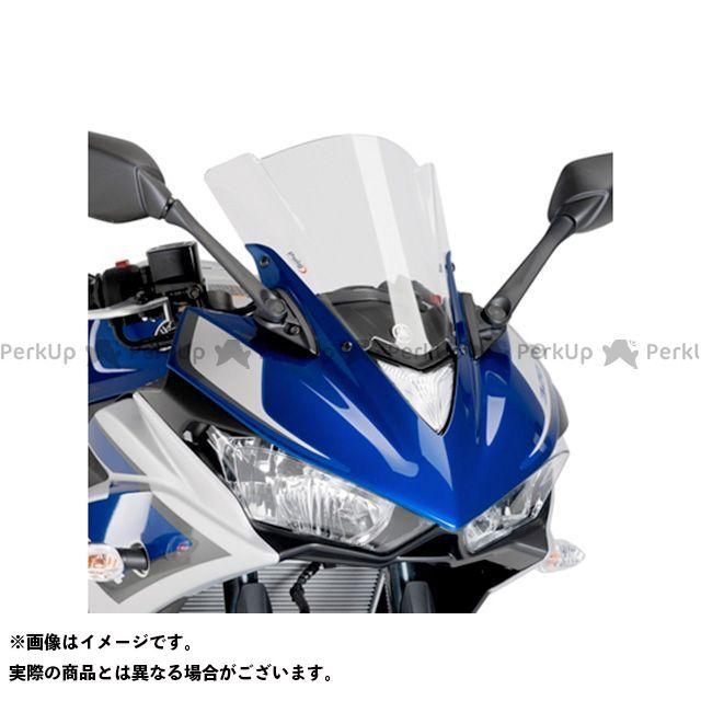 【エントリーでポイント10倍】 プーチ YZF-R25 YZF-R3 レーシングスクリーン クリア