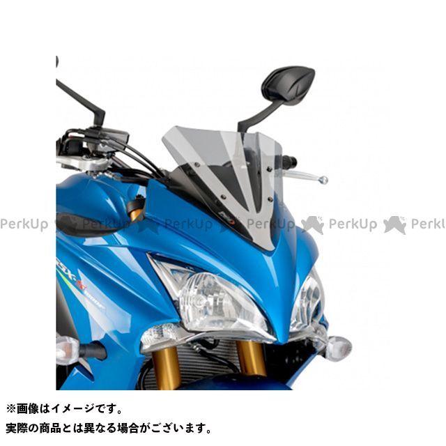 プーチ GSX-S1000F レーシングスクリーン カラー:スモーク Puig
