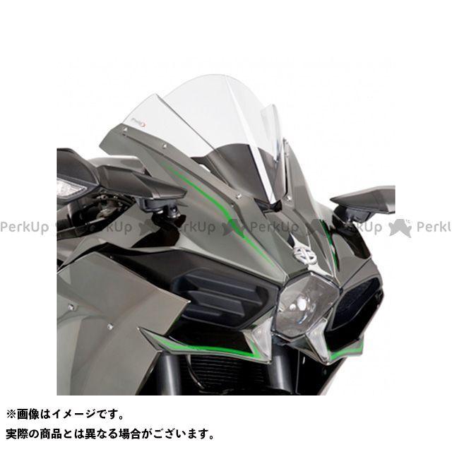 プーチ ニンジャH2R ニンジャH2(カーボン) レーシングスクリーン カラー:クリア Puig