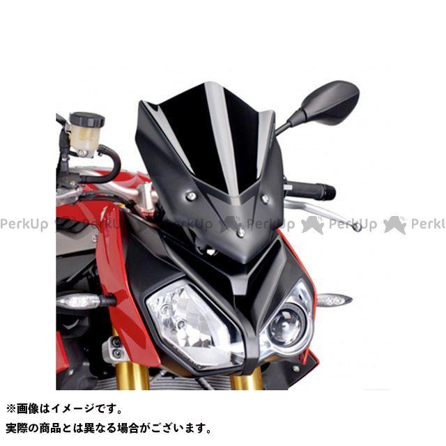 プーチ S1000R レーシングスクリーン カラー:ブラック Puig
