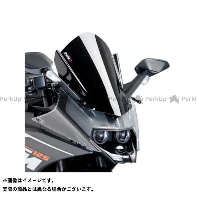 プーチ RC125 RC390 レーシングスクリーン カラー:ブラック Puig