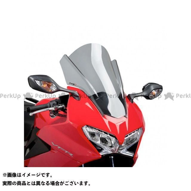 【エントリーで更にP5倍】プーチ VFR800F ツーリングスクリーン カラー:スモーク Puig