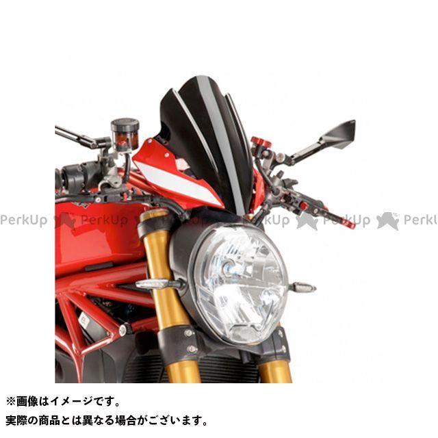 プーチ モンスター1200R ツーリングスクリーン カラー:ブラック Puig