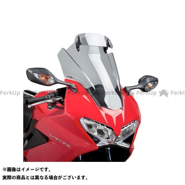 プーチ VFR800F スクリーン関連パーツ ツーリングスクリーン バイザー付(スモーク)