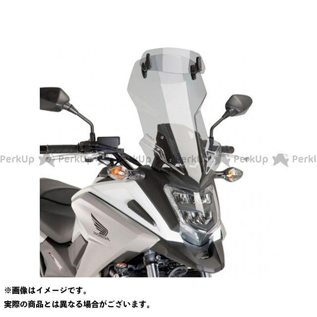 プーチ NC750X スクリーン関連パーツ ツーリングスクリーン バイザー付(スモーク)