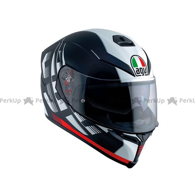 AGV エージーブイ K-5 S DARKSTORM MATT BLACK/RED S/55-56cm