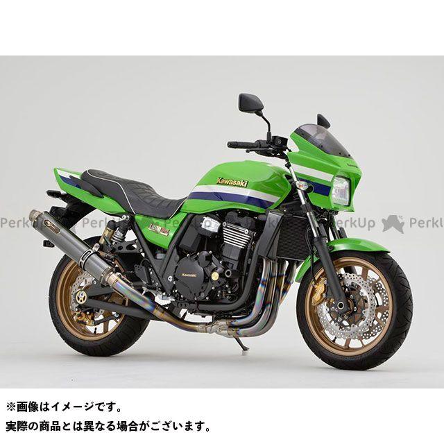 ノジマ ZRX1200ダエグ マフラー本体 GTSシリーズ DLCチタン 手曲げ TYPE-SC