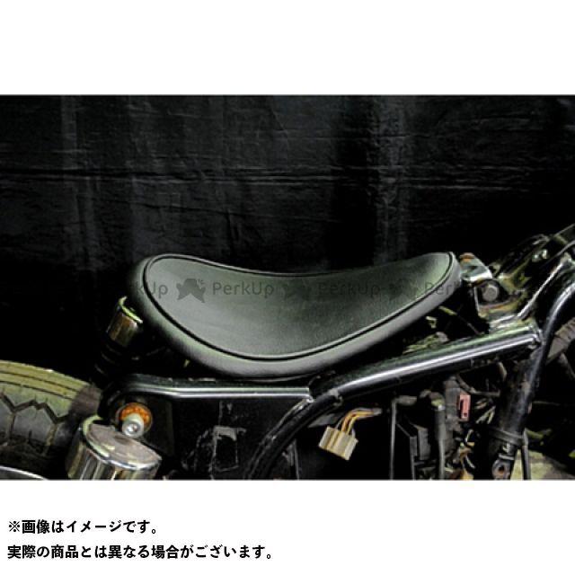 部品屋K&W エストレヤ 専用ソロシートKIT リジットタイプ(プレーン) カラー:黒 ブヒンヤケーアンドダブリュー