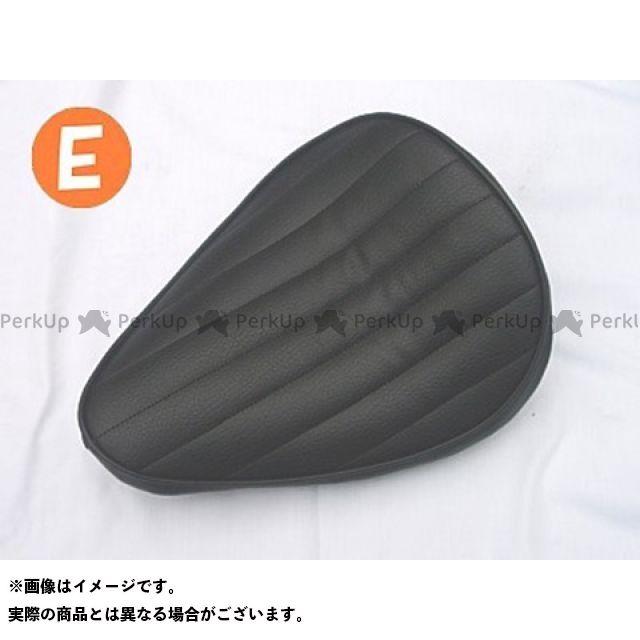部品屋K&W エストレヤ 専用ソロシートKIT リジットタイプ(ステッチ) Eタイプ 黒
