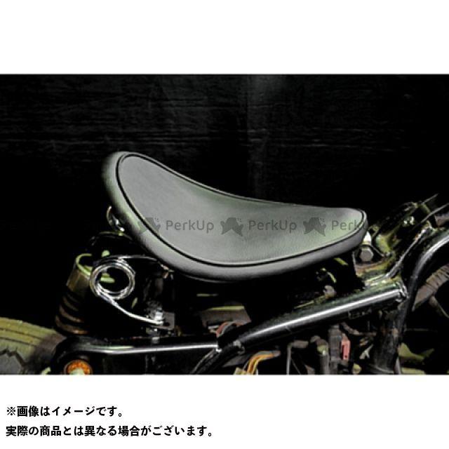 部品屋K&W エストレヤ 専用ソロシートKIT スプリングタイプ(プレーン) 黒