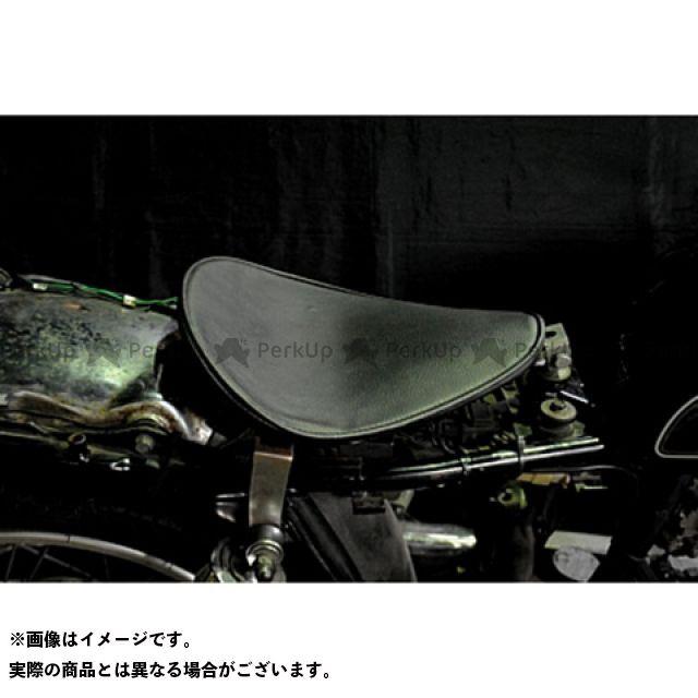 部品屋K&W SR400 SR500 専用ソロシートKIT リジットタイプ(プレーン) カラー:黒 ブヒンヤケーアンドダブリュー