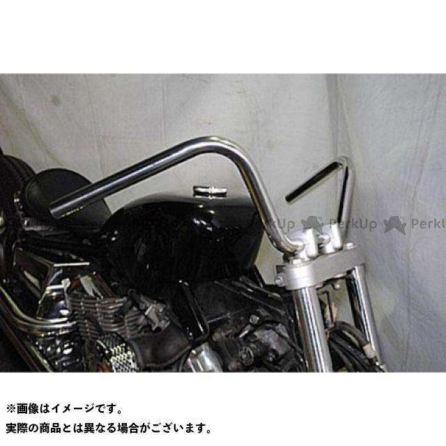 部品屋K&W SR400 SR500 ハンドル関連パーツ スヌーピィバー