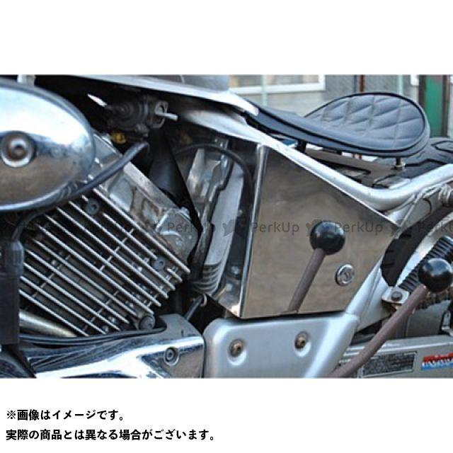 品質満点! 部品屋K&W 部品屋K&W Vツインマグナ カウル・エアロ Magna250用ステンレス製サイドカバー, イーバリュージュエリー:38a464de --- canoncity.azurewebsites.net