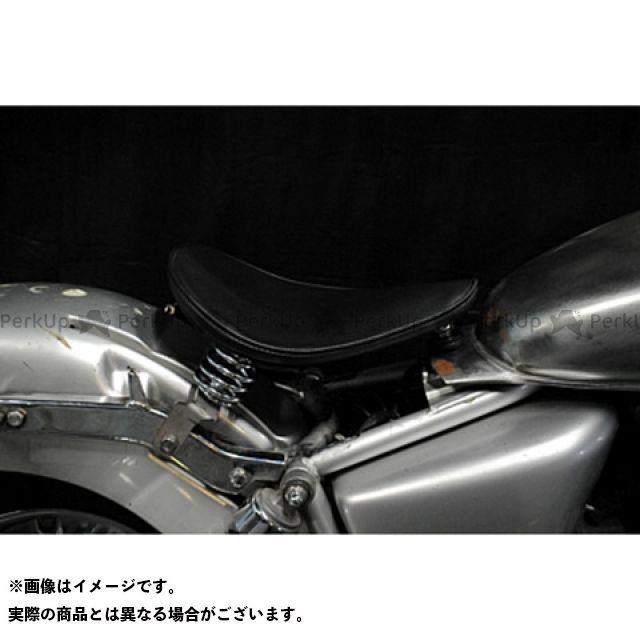 部品屋K&W マグナ50 Magna50用 純正フェンダー対応ソロシートKIT スプリングタイプ(プレーン) カラー:黒 ブヒンヤケーアンドダブリュー