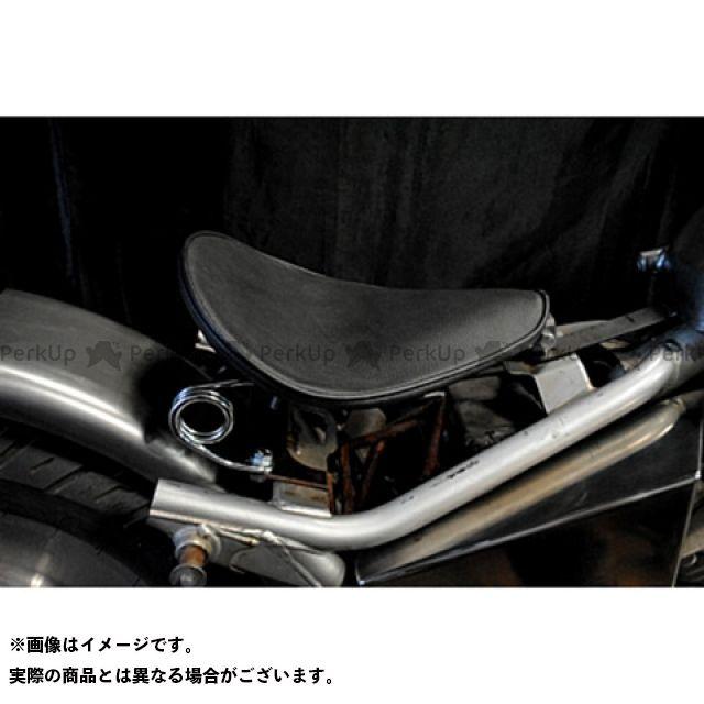 部品屋K&W Vツインマグナ Magna250用 専用ソロシートKIT スプリングタイプ(プレーン) 黒