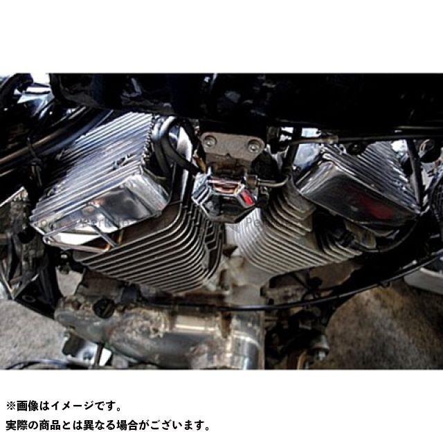 部品屋K&W ビラーゴ250(XV250ビラーゴ) エンジンカバー ブヒンヤケーアンドダブリュー
