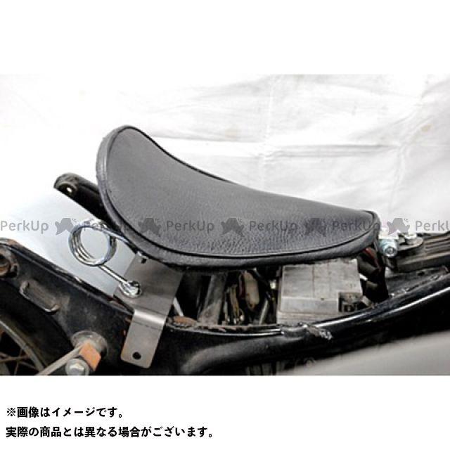部品屋K&W ビラーゴ250(XV250ビラーゴ) 専用ソロシートKIT スプリングタイプ(プレーン) 黒