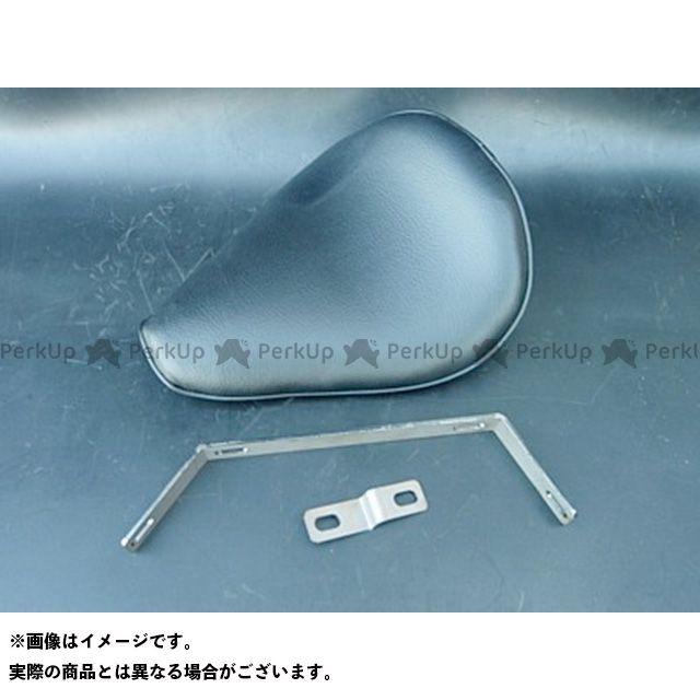 部品屋K&W スティード400 専用ソロシートKIT リジットタイプ(プレーン) カラー:薄茶 ブヒンヤケーアンドダブリュー