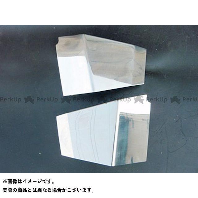 部品屋K&W シャドウ400 SHADOW用 ステンレス製サイドカバー ブヒンヤケーアンドダブリュー