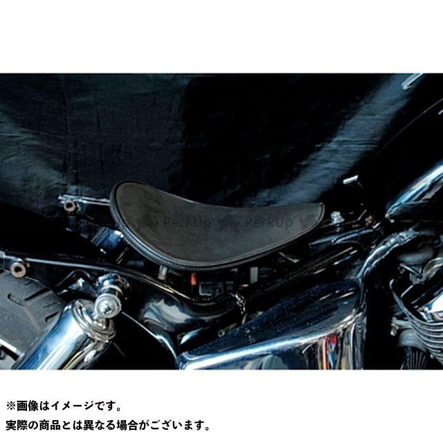 部品屋K&W シャドウ400 SHADOW専用ソロシートKIT リジットタイプ(プレーン) カラー:黒 ブヒンヤケーアンドダブリュー