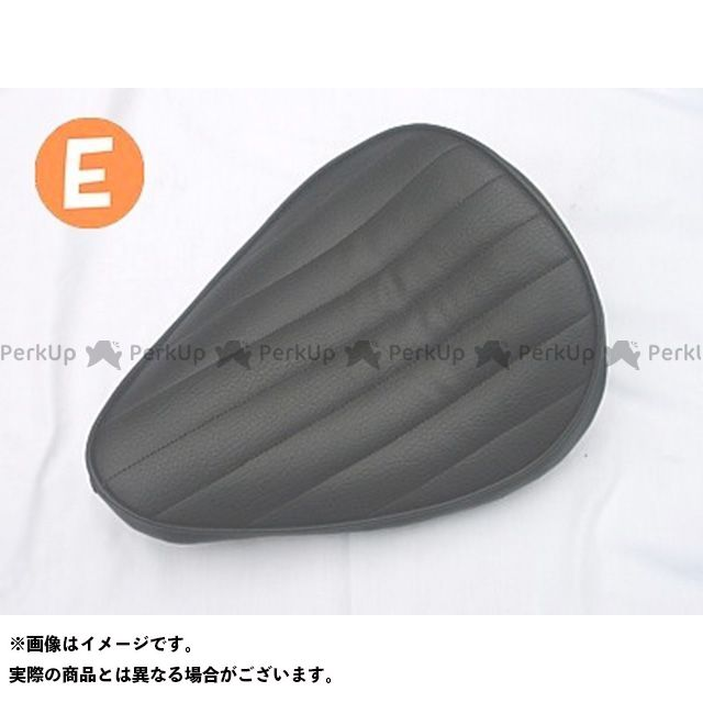 部品屋K&W シャドウ400 SHADOW専用ソロシートKIT リジットタイプ(ステッチ) タイプ:Eタイプ カラー:黒 ブヒンヤケーアンドダブリュー