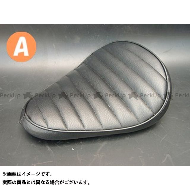 部品屋K&W シャドウスラッシャー SHADOW SLASHER専用ソロシートKIT リジットタイプ(ステッチ) タイプ:Aタイプ カラー:黒 ブヒンヤケーアンドダブリュー