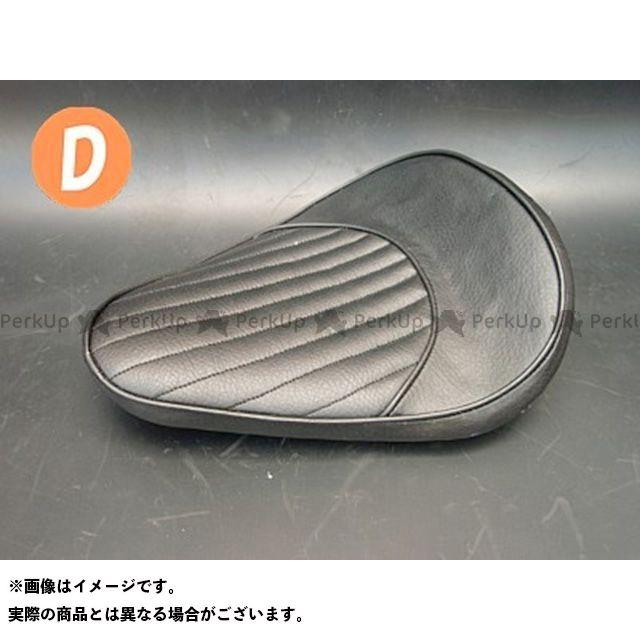 部品屋K&W シャドウスラッシャー SHADOW SLASHER専用ソロシートKIT リジットタイプ(ステッチ) タイプ:Dタイプ カラー:黒 ブヒンヤケーアンドダブリュー