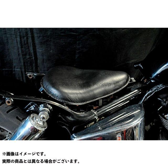 部品屋K&W シャドウ400 SHADOW専用ソロシートKIT リジットタイプ(本革サドルシート) カラー:黒 ブヒンヤケーアンドダブリュー