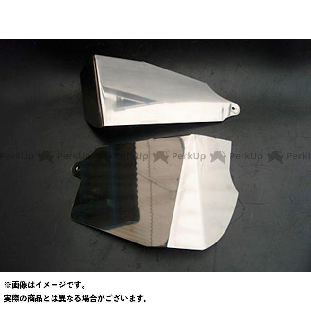 部品屋K&W バルカン400 ステンレス製サイドカバー ブヒンヤケーアンドダブリュー