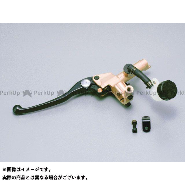 デイトナ 汎用 NISSIN クラッチマスターシリンダーキット(横型/タンク別体式)5段切り替えタイプ 5/8インチ(約15.9mm) ゴールド ブラック