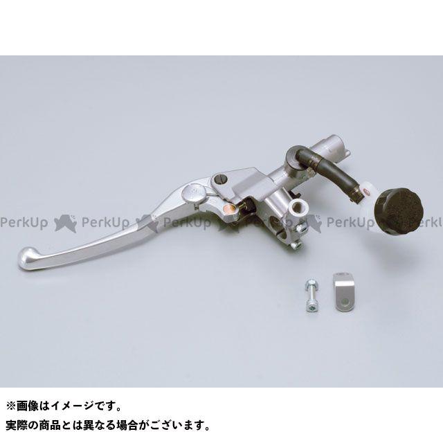 デイトナ 汎用 NISSIN クラッチマスターシリンダーキット(横型/タンク別体式)5段切り替えタイプ 14mm シルバー バフクリアー