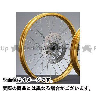 ワイズギア セロー250 フロントホイールASSY(ゴールド) Y'S GEAR