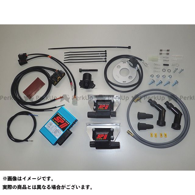 ASウオタニ GS400 GS400E CDI・リミッターカット SPIIフルパワーキット(S.GS400 コードセット付)