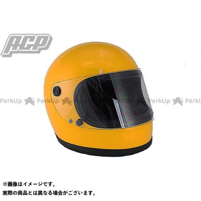 ACP ビンテージ フルフェイス ヘルメット イエロー 70S-GT エーシーピー