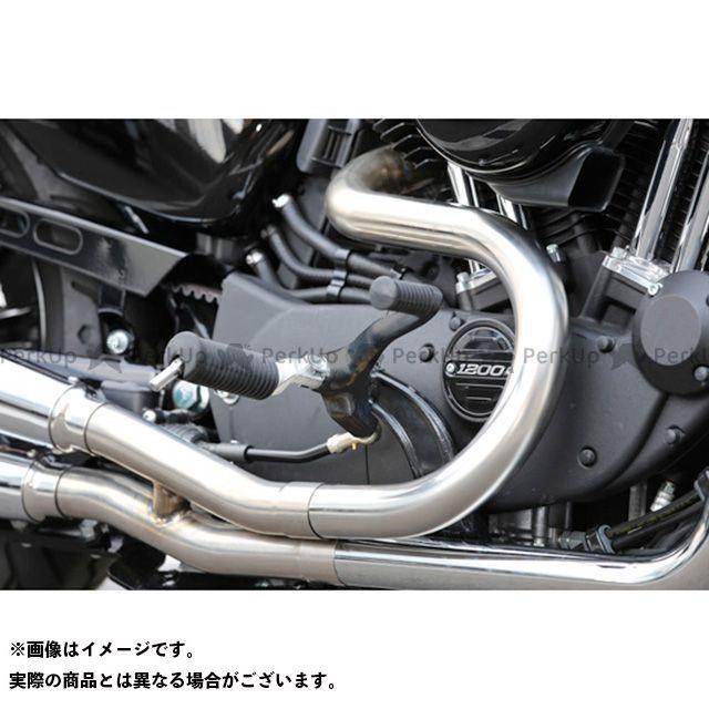 キジマ スポーツスターファミリー汎用 ミッドコントロールキット カラー:ブラック 年式:2004-2013 KIJIMA