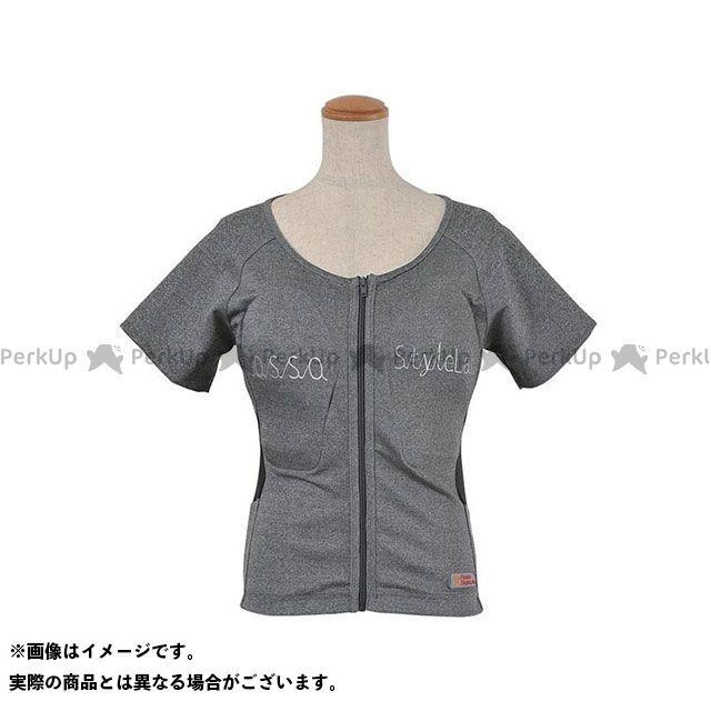 RossoStyleLab ROPRO-09 レディースプロテクションTシャツ カラー:グレイ サイズ:L ロッソスタイルラボ