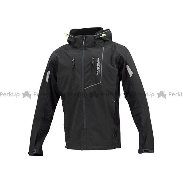 コミネ JK-112 プロテクトハーフメッシュパーカ-ゲンリ カラー:ブラック サイズ:3XL メーカー在庫あり KOMINE