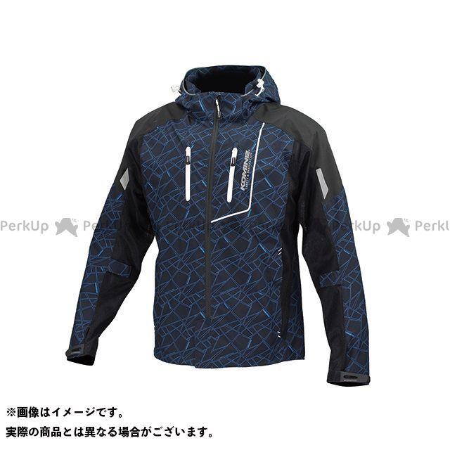 コミネ JK-112 プロテクトハーフメッシュパーカ-ゲンリ カラー:クラッシュ/ブラック サイズ:3XL メーカー在庫あり KOMINE