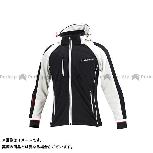 コミネ JK-113 スムースメッシュジャージパーカ-ザネ カラー:ブラック/グレー サイズ:L メーカー在庫あり KOMINE
