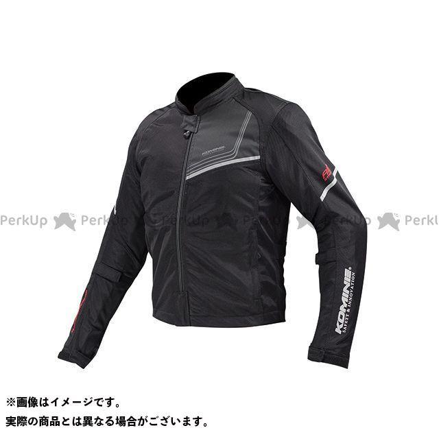 送料無料 コミネ KOMINE ジャケット JK-117 プロテクトフルメッシュジャケット-ジモン ブラック 2XL