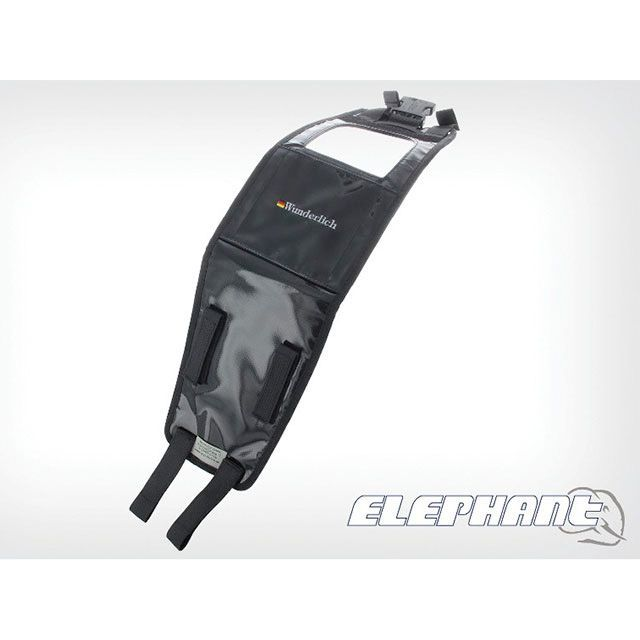 ワンダーリッヒ Wunderlich ツーリング用バッグ タンクバック『Elephant』 車種別専用取り付けベルト K10S/K10R/K1300S/K1300R(ブラック)