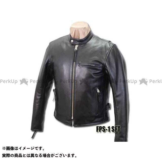 KADOYA カドヤ ジャケット K'S LEATHER NO.1138-1 FPS-1/SFT B体(ブラック) 3L