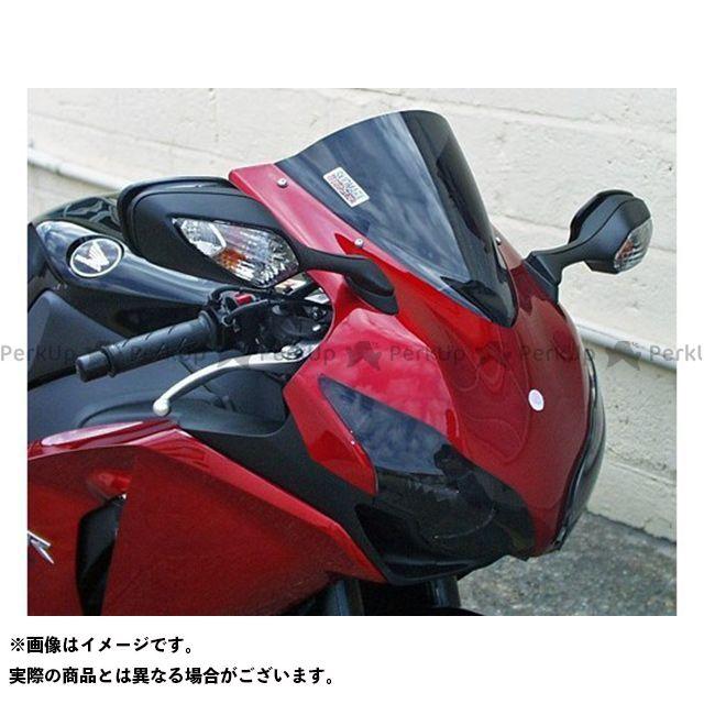 【無料雑誌付き】スキッドマークス CBR1000RRファイヤーブレード ウィンドスクリーン ダブルバブルタイプ カラー:ブラック Skidmarx