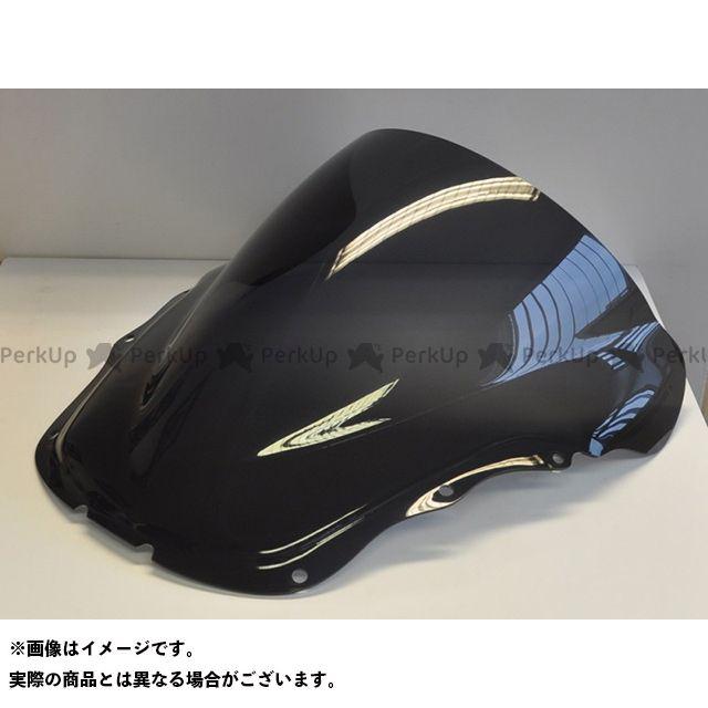 【エントリーで更にP5倍】スキッドマークス CBR1100XXスーパーブラックバード ウィンドスクリーン ダブルバブルタイプ カラー:クリア Skidmarx