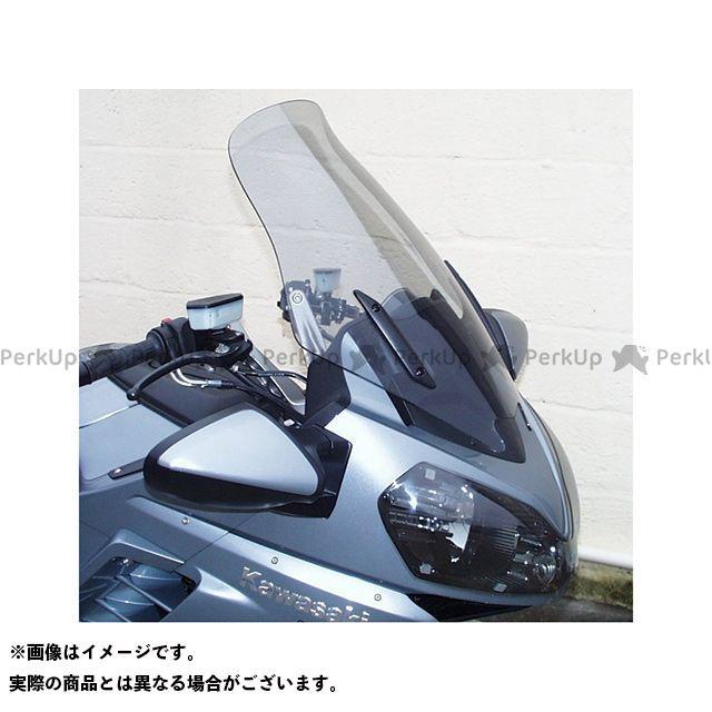 スキッドマークス 1400GTR・コンコース14 ウィンドスクリーン ツーリングタイプ カラー:グリーン Skidmarx
